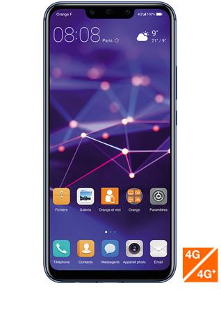 Huawei Mate 20 lite bleu - vue 1
