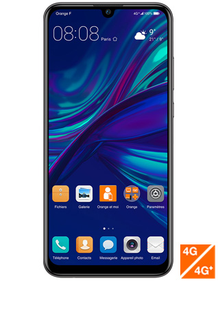 Huawei P smart 2019 noir - vue 1