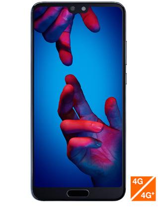 Huawei P20 bleu - vue 1