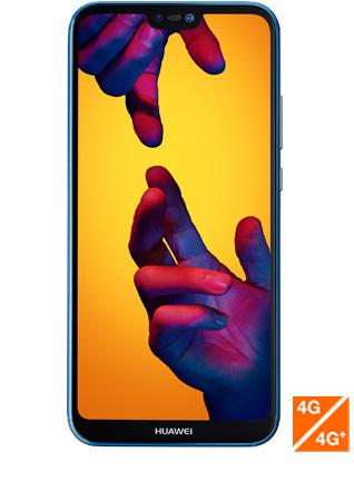 Huawei P20 lite bleu - vue 1