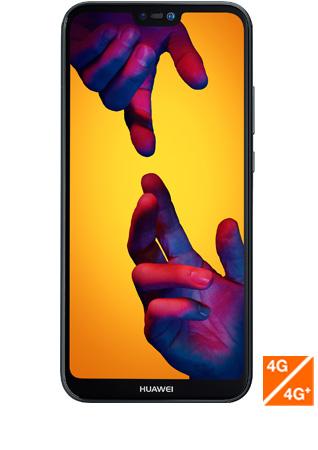 Huawei P20 lite noir - vue 1