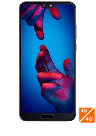 Huawei P20 rose - vue 1