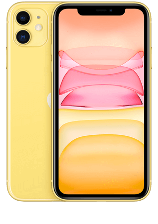 Apple iPhone 11 Jaune 256 Go