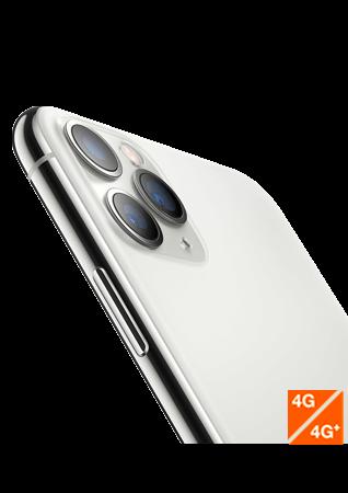 iPhone 11 Pro Max argent - vue 1