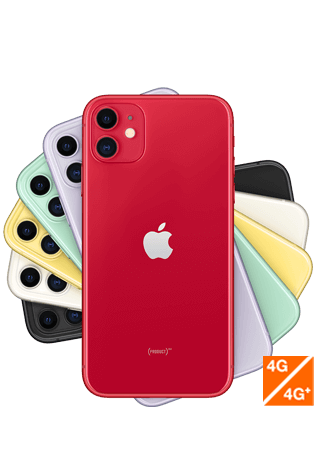 iPhone 11 product red - vue 1