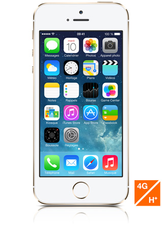 iphone 5s 16go or puce a7 4g lte ios 7 sosh sosh. Black Bedroom Furniture Sets. Home Design Ideas