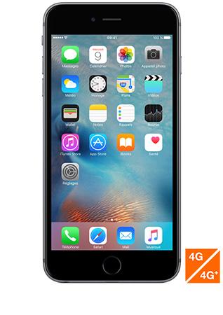 apple iphone 6s plus gris sid ral 32go avis prix avec forfait caract ristiques sosh. Black Bedroom Furniture Sets. Home Design Ideas