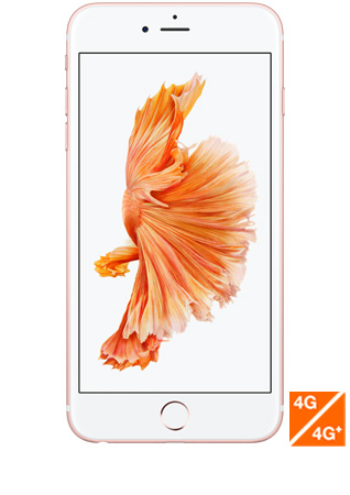 iPhone 6s Plus or rose vue 1