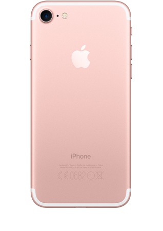 Apple iPhone 7 Or rose 128Go