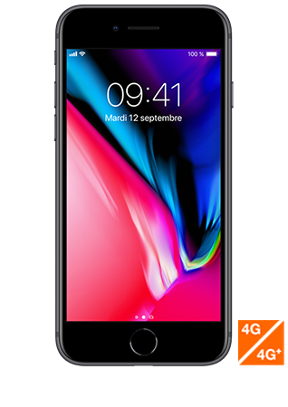 iPhone reconditionné 8 Gris 64Go grade premium Recommerce