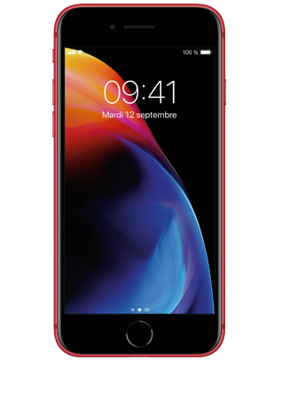 iPhone 8 RED - vue 1