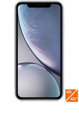 iPhone Xr blanc - vue 1