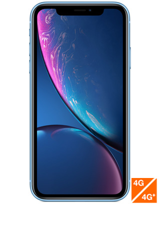 iPhone Xr bleu - vue 1