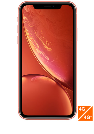 iPhone Xr corail - vue 1