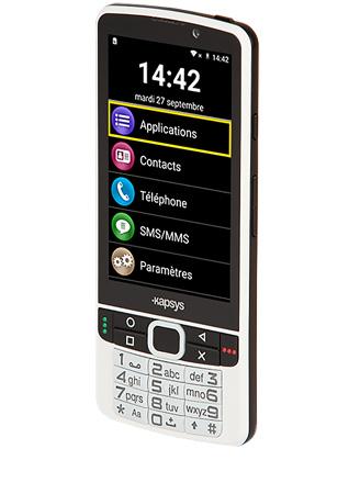 Kapsys SmartVision2 Premium blanc