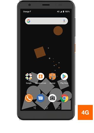 Orange Neva Zen- Vue 1