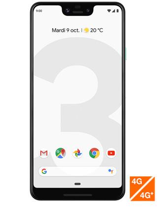 pixel 3 XL blanc vue 1
