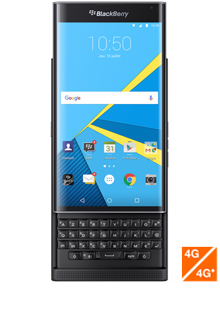 Priv by Blackberry vue 1