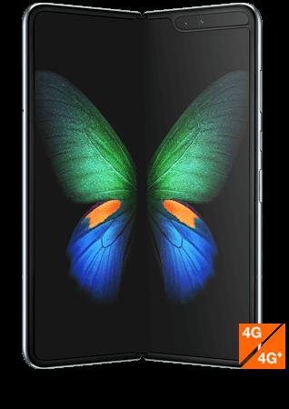 Samsung Galaxy Fold Argent vue 1