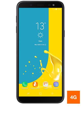 Samsung Galaxy J6 noir - vue 1