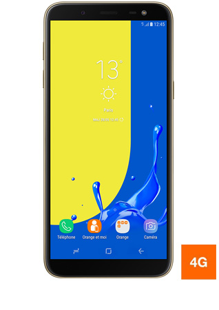 Samsung Galaxy J6 or - vue 1