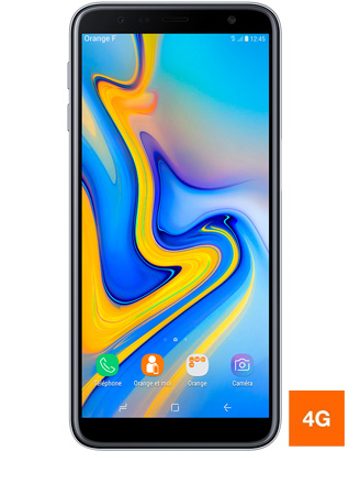 Samsung Galaxy J6 Plus gris vue 1