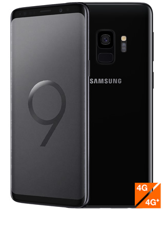 Samsung Galaxy S9 noir carbone - vue 1