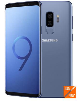 Samsung Galaxy S9 Plus bleu corail - vue 1