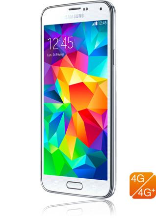 d756b3e6399 Samsung Galaxy S5 4G+ blanc-smartphone 4G-4G+-apn 16 mpxls-écran 5,1 ...