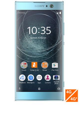 Sony Xperia XA2 bleu - vue 1