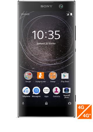 Sony Xperia XA2 noir - vue 1