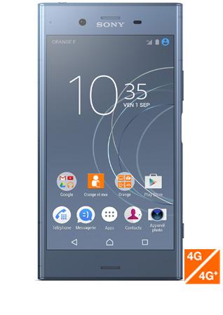 Sony Xperia XZ1 bleu - vue 1