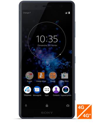 Sony Xperia XZ2 Compact noir - vue 1