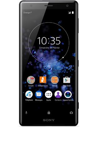 Sony Xperia XZ2 noir - vue 1
