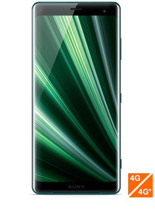 Sony Xperia XZ3 vert - vue 1