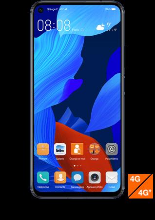 vue 1- Huawei nova 5T Noir