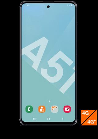 Samsung Galaxy A51 noir vue 1