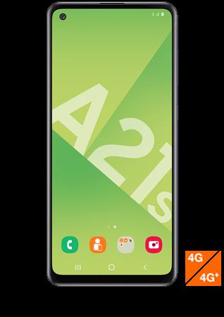 Samsung Galaxy A21s noir
