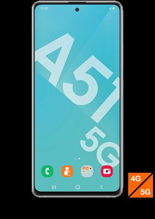 Samsung Galaxy A51 5G blanc