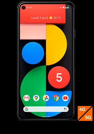 Google Pixel 5 5G noir