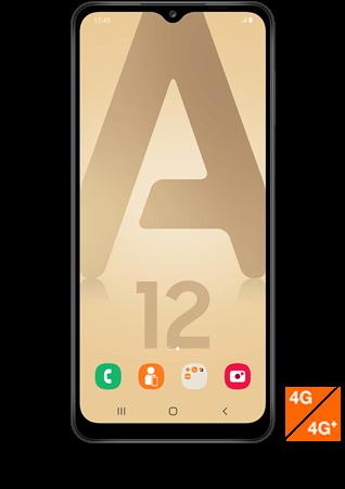 Samsung Galaxy A12 noir - Vue 1