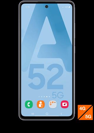 Samsung Galaxy A52 5G lavande