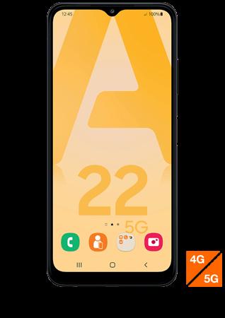 Samsung Galaxy A22 5G gris