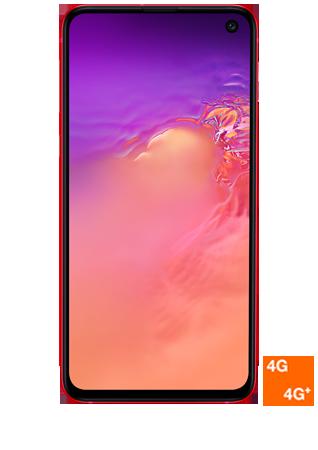vue 1 Samsung Galaxy S10e rouge