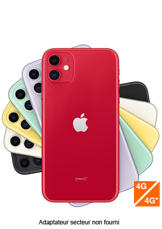 Apple iPhone 11 PRODUCT RED 64 Go