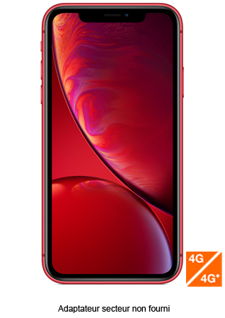 Apple iPhone XR RED 128 Go