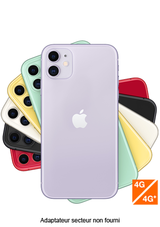 Apple iPhone 11 Mauve 128 Go