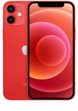 Apple iPhone 12 mini PRODUCT RED 128 Go