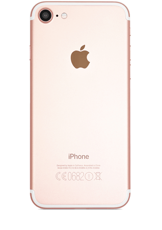iPhone reconditionné 7 or rose 32Go grade eco plus again