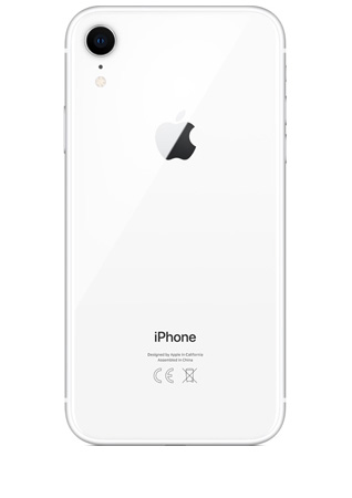 iPhone reconditionné iPhone XR blanc 64Go Grade A Cadaoz
